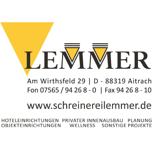 Logo Schreinerei Lemmer